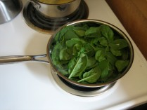 pan o spinach