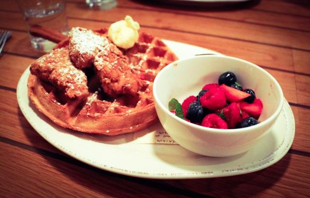 Vegan Chicken and Waffle